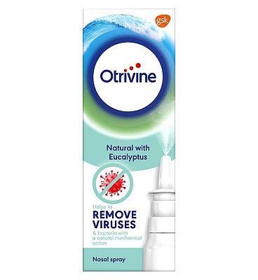 Otrivine Natural Nasal Spray - 20ml
