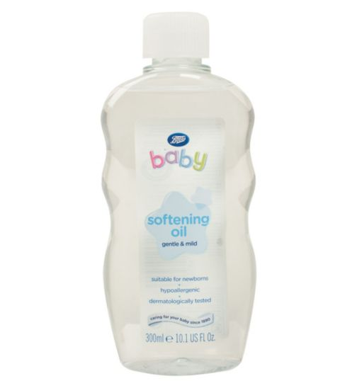 Boots Baby Softening Oil 300ml