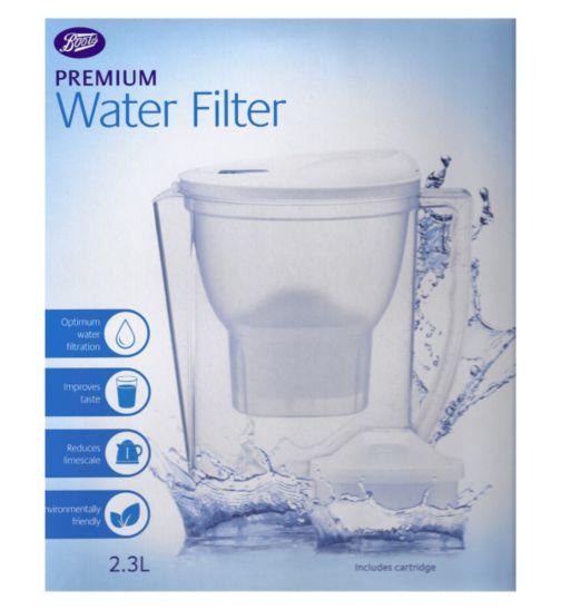 Boots Premium Water Filter Jug