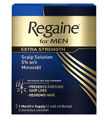 Regaine for Men Extra Strength 60ml 1 months supply