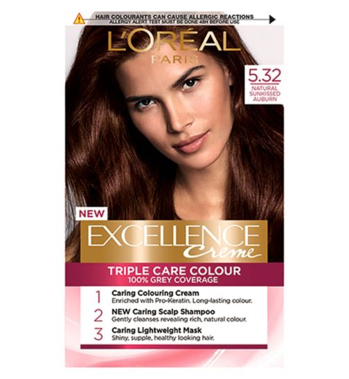L'Oréal Excellence 5.32 Sun-Kissed Auburn