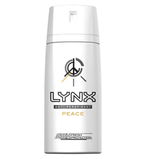 Lynx Peace Anti-perspirant Deodorant Aerosol 150ml