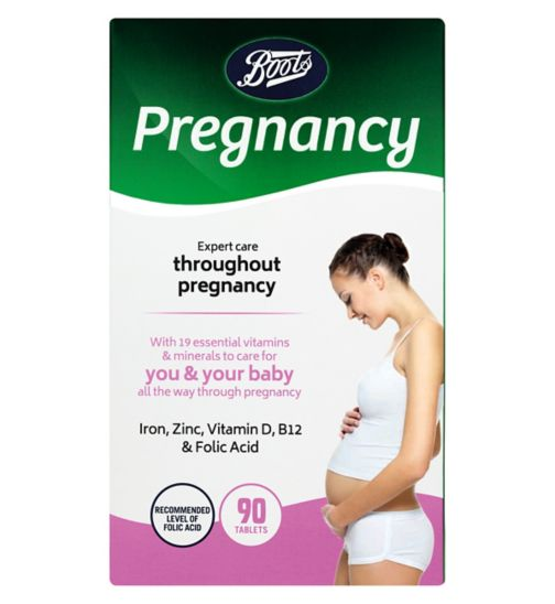 Boots Pregnancy Support - 90 Tablets