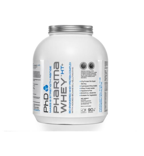 PhD Pharma Whey HT+ Chocolate Cookie with sweetener - 2.27kg