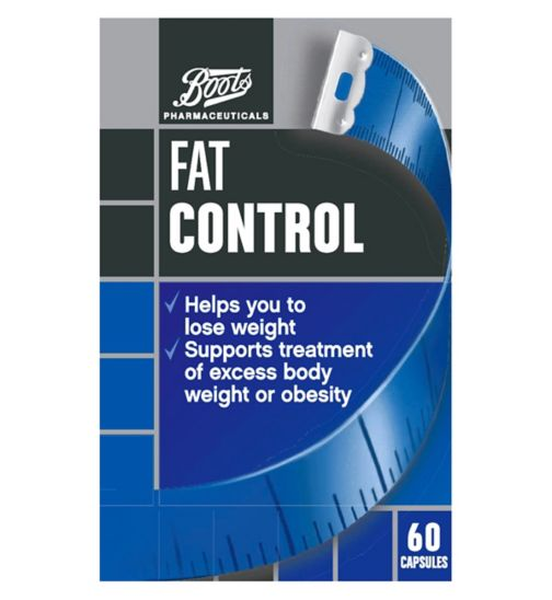 Boots Pharmaceuticals Fat Control  60 tablets