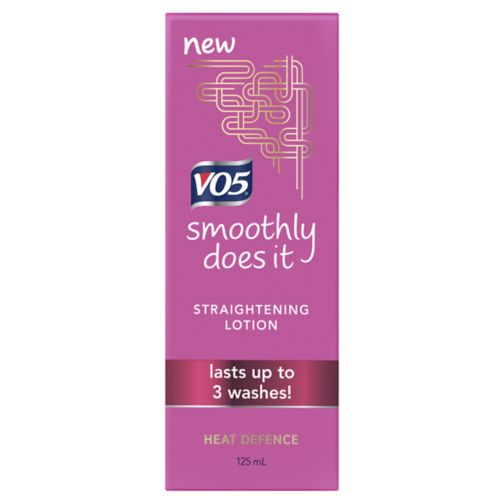VO5 Smoothly Does it Straightening Lotion 125ml