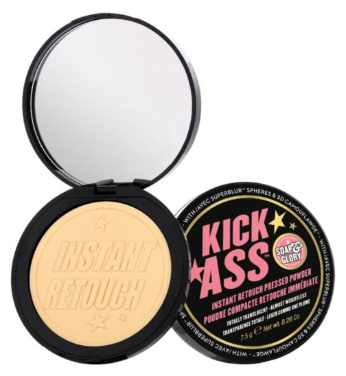 Soap & Glory Kick Ass Instant Retouch Pressed Powder