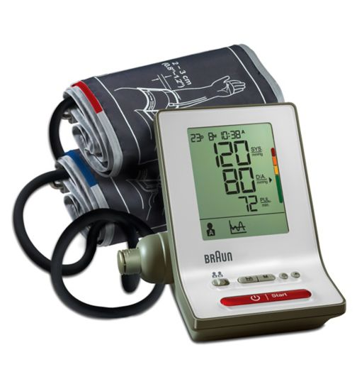 Braun ExactFit 3 - BP6000 Upper Arm Blood Pressure Monitor