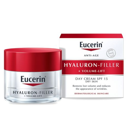 Eucerin® Anti-Age Volume-Filler Day Cream SPF 15 UVB + UVA Protection 50ml