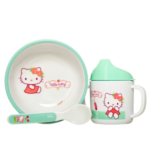 Hello Kitty Weaning Set- 3 Piece