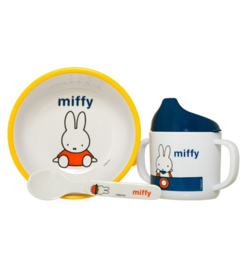 Miffy Weaning Set- 3 Piece