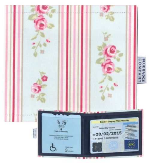 Blue Badge Display Wallet with  Free Timer Clock