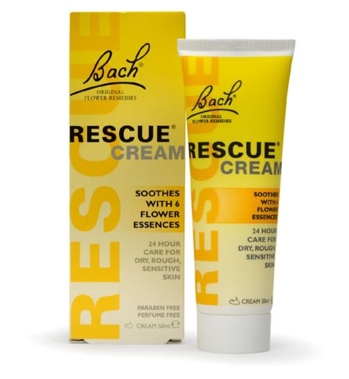 Bach Rescue Remedy Moisturising Cream with Flower Essences 50ml