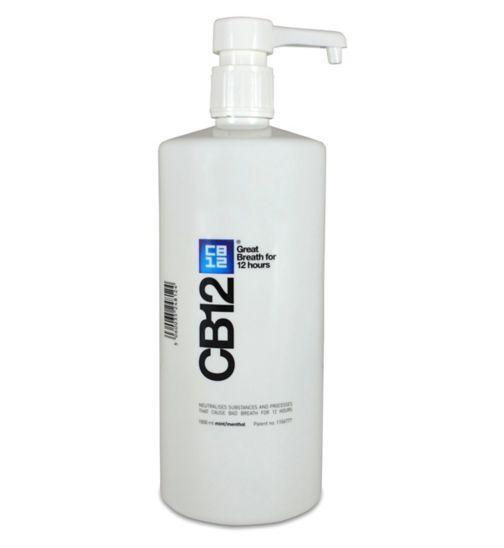 CB12 Mint-Menthol mouthwash 1ltr