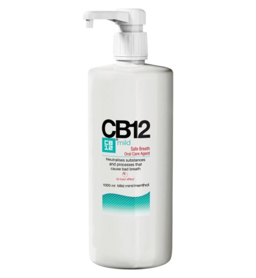 CB12 Mild Mint-Menthol mouthwash 1ltr