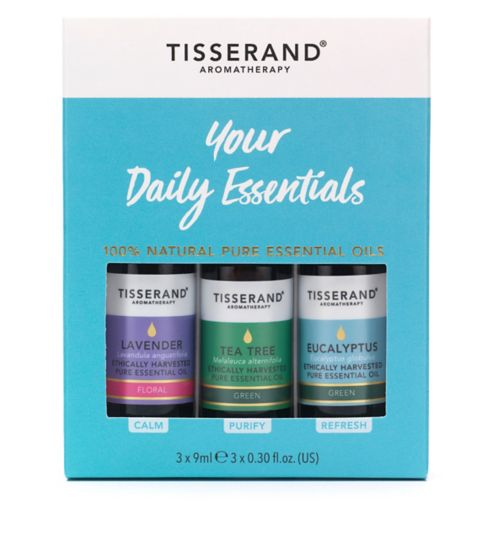 Tisserand Everyday Essential Oil Kit - 3 x 9 ml