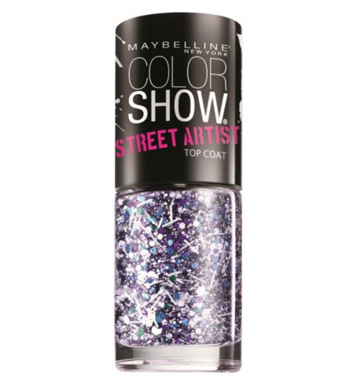 Maybelline Colorshow Street Art Top Coat Collection