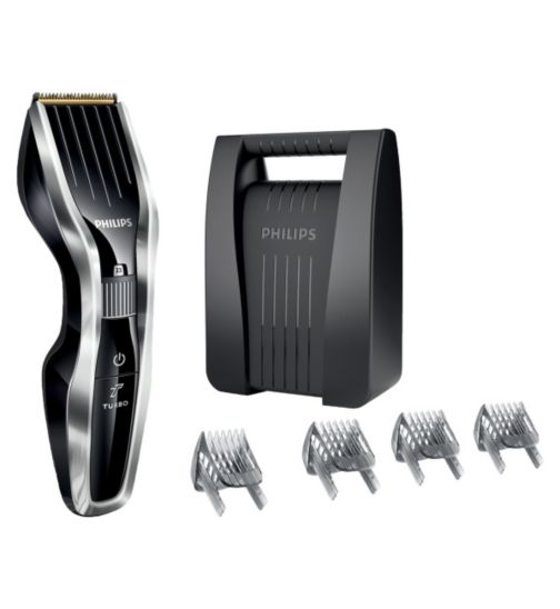 Philips Series 5000 Hair Clipper HC5450/83 with DualCut Technology, Titanium Blades and Cordless Use