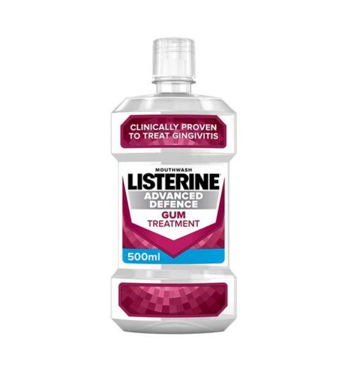 LISTERINE® Advanced Defence Gum Treatment