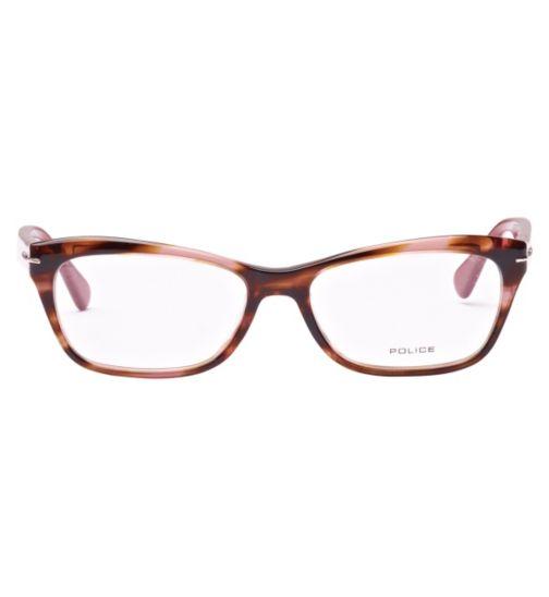 7d18a52270f6 Police V1775 Women s Glasses - Burgandy