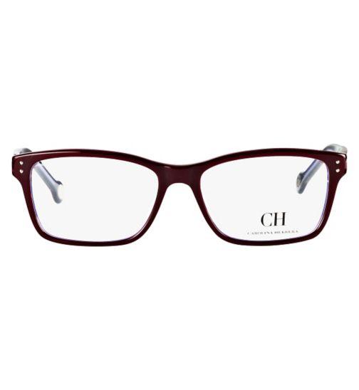 4062c1c12e Carolina Herrera Women s Bordeaux Glasses - VHE561