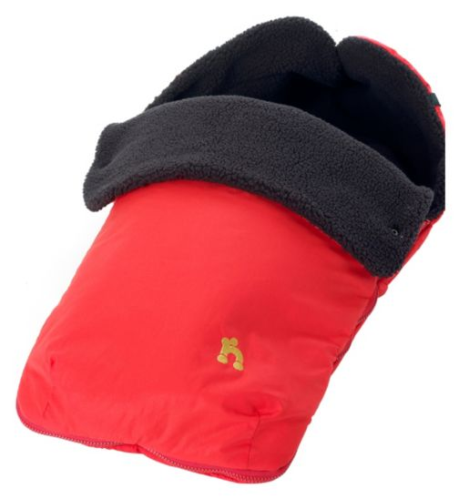 Out 'n' About Nipper Footmuff Carnival Red