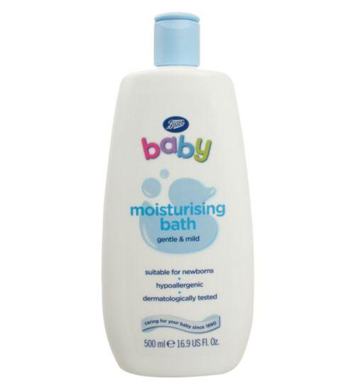 Boots Baby Moisturising Bath- 500ml