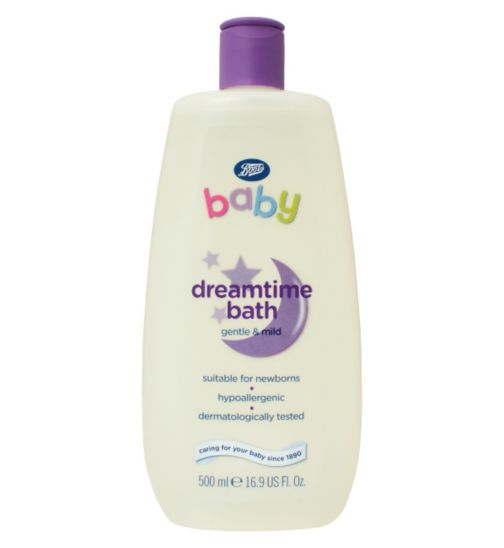 Boots Baby Dreamtime Bath- 500ml