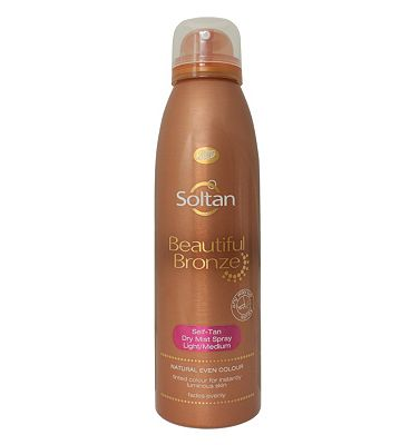 Soltan Beautiful Bronze Self Tan Dry Mist Spray Light/Medium