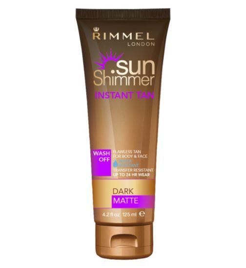 Rimmel Sunshimmer Instant Tan Dark Matte