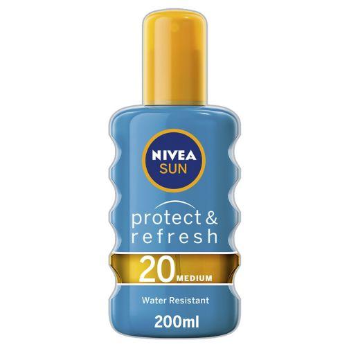 NIVEA® Sun Protect & Refresh Sun Spray SPF20 200ml