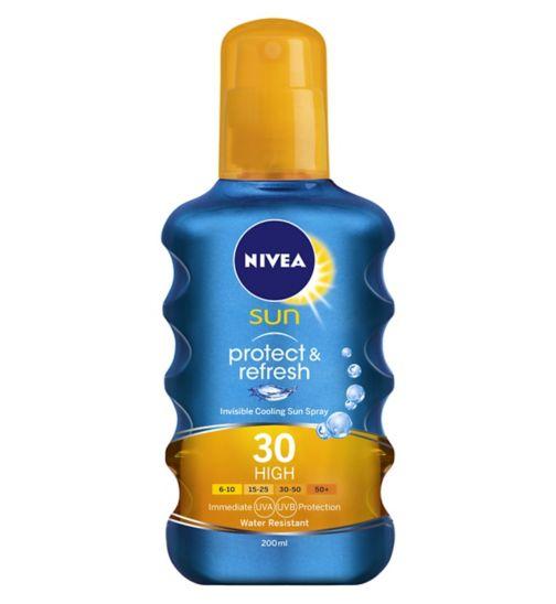 NIVEA® SUN Protect & Refresh Sun Spray SPF30 200ml