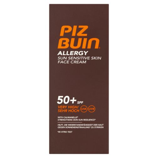 PIZ BUIN Allergy Sun Sensitive Face Cream SPF50+ 50ml