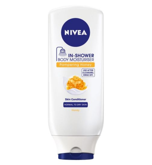 Nivea® In Shower Body Moisturiser Pampering Honey Skin Conditioner 250ml