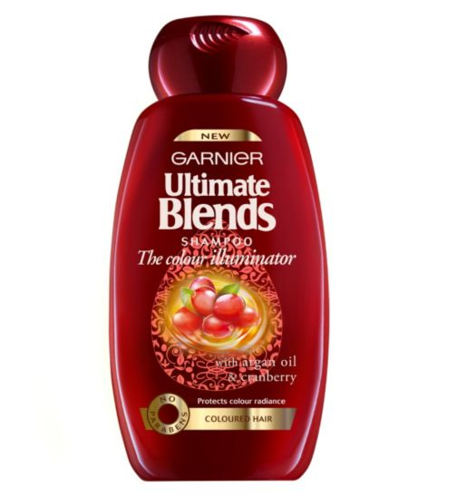 Garnier Ultimate Blends Colour Illuminator Shampoo 400ml
