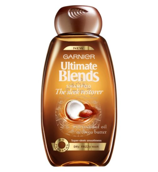Garnier Ultimate Blends Sleek Restorer Shampoo 250ml