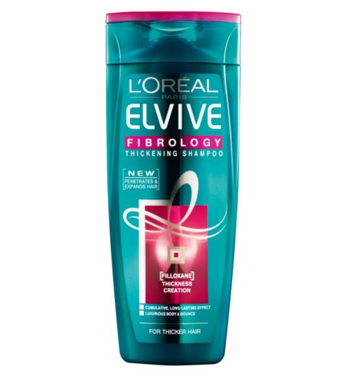 L'Oreal Elvive Fibrology Thickening Shampoo 250ml