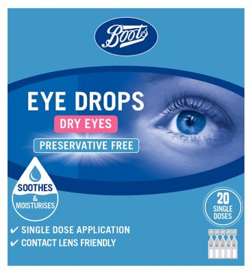 Boots Dry Eyes Drops