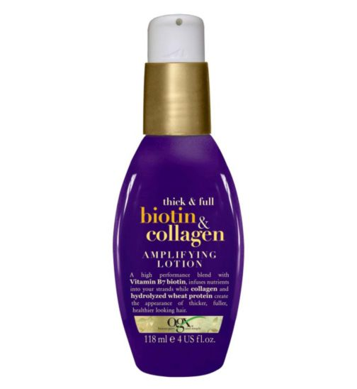 OGX Thick and Full Biotin & Collagen Amplifying Lotion 118ml