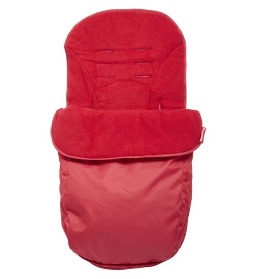 Clair de Lune Footmuff - Red