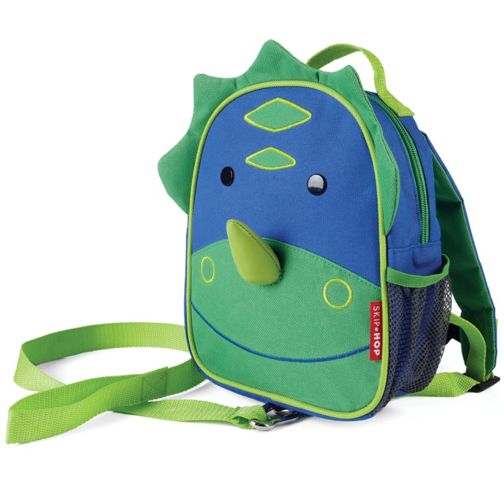 Skip Hop Zoo-Let Toddler Bag with Safety Harness - Dinosaur