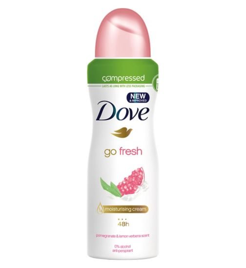 Dove Go Fresh Compressed Anti-perspirant Deodorant Pomegranate 125ml