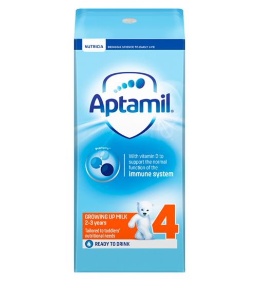 Aptamil with Pronutra+ Growing Up Milk 4 2-3 Years 200ml