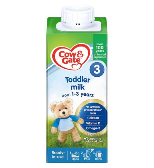 Cow & Gate Growing Up Milk 1-2 Years 3 Stage 200ml