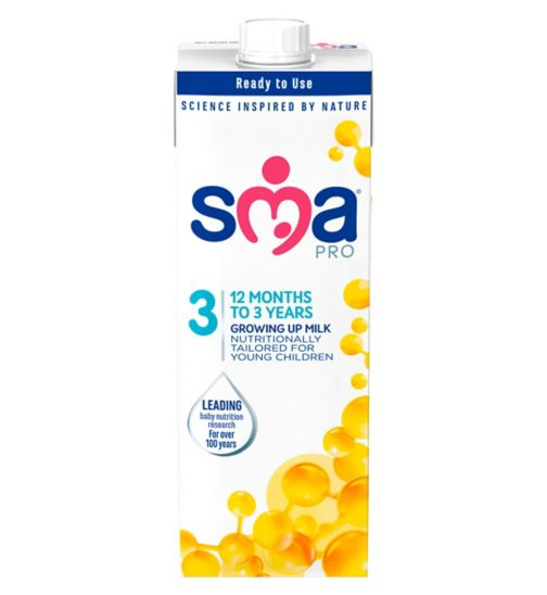 SMA PRO Toddler Milk 3 1-3 Years UHT 1 Litre