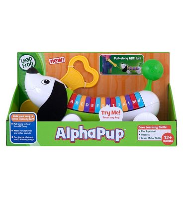 LeapFrog AlphaPup in Green