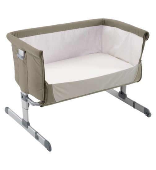 Chicco Next 2 Me Side-Sleeping Crib dove grey