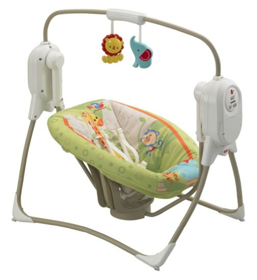 Fisher Price Rainforest Friends SpaceSaver Cradle 'n' Swing