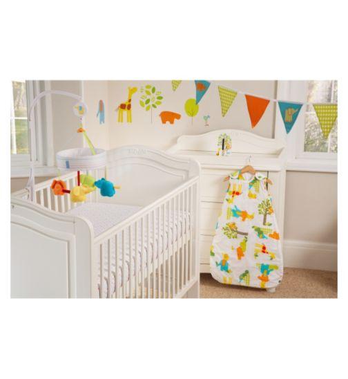 Gro Company Safer Sleep Nursery Set - Jolly Jungle