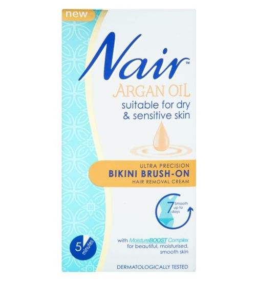 Nair Ultra Precision Bikini Brush-On Hair Removal Cream 60ml